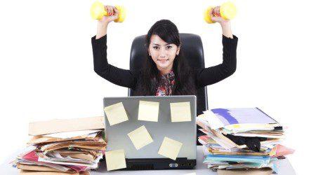 Упражнения, които можете да правите в офиса през обедната почивка
