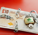 Unlock your UK Pension. From April 2014 aside from the 25% you are currently entitled to take as a tax-free lump sum, you will no longer be forced to invest the remainder into an annuity to provide a pension for your retirement. The government is introducing legislation that will allow a pension holder to invest the pension pot as they desire - or even take the remaining 75% as a cash lump sum - although this remaining amount in such an instance, would be subject to income tax. Good copy space.
